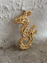 The Seahorse Yellow Gold plated