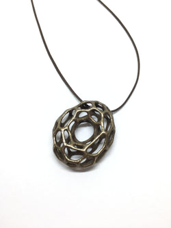 Cyclone Necklace Steel Pendant