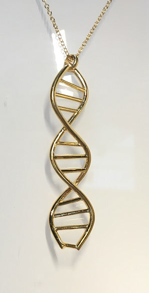 (Large) BioChem DNA Necklace Pendant with Chain *NEW*