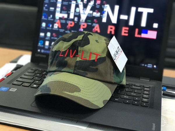LIV-LIT CAMO DAD HAT