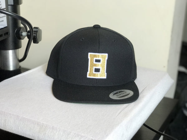 BLACK LVNT SNAP BACK HAT