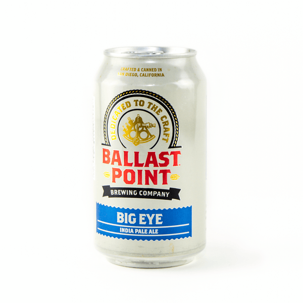 Upright Can Ballast Point Big Eye IPA