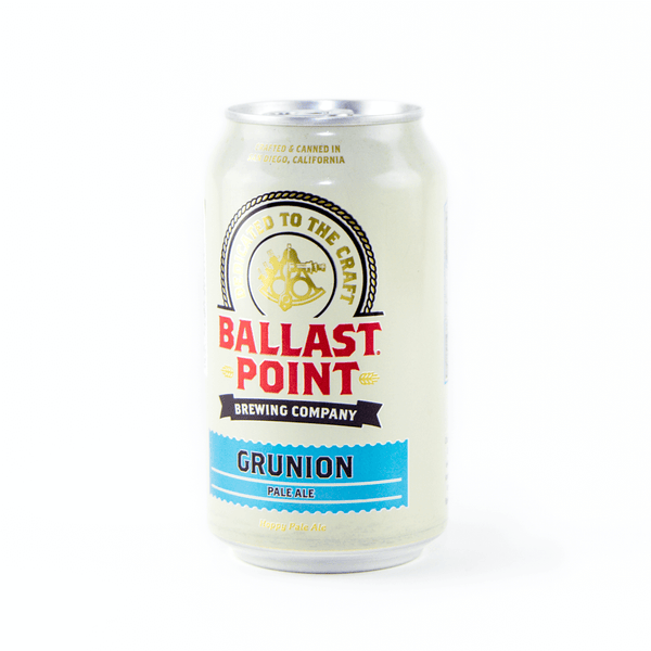 Upright Can Ballast Point Grunion Pale Ale