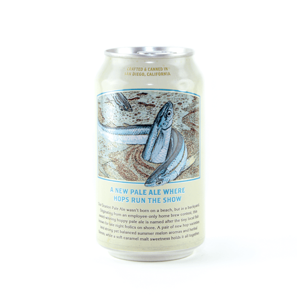 Back Can Ballast Point Grunion Pale Ale