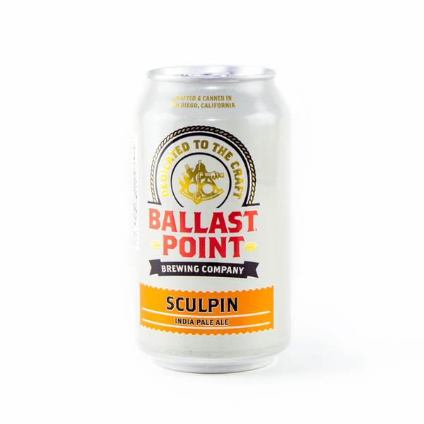 Upright Can Ballast Point Sculpin IPA