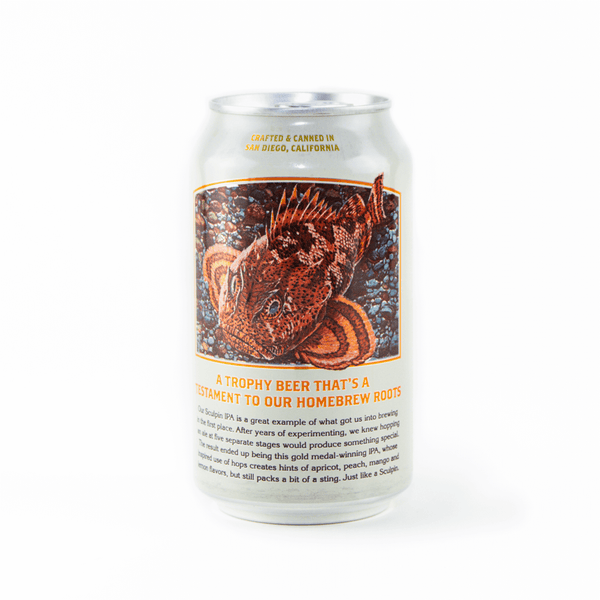 Back Can Ballast Point Sculpin IPA