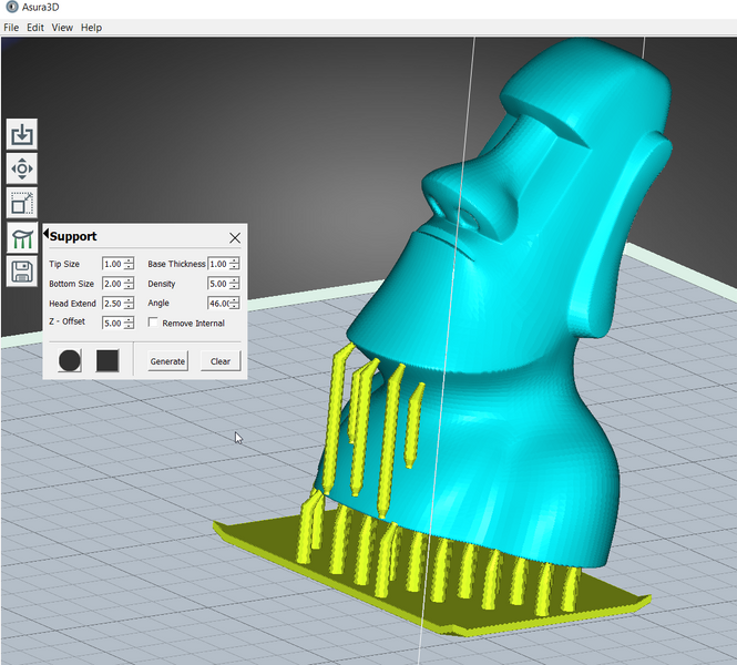Asura 2.2.2 software by Peopoly, improve support functions, updated adjustment algorithm