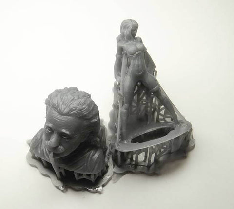 How to print Moai resin on Formlabs Form2 – Peopoly