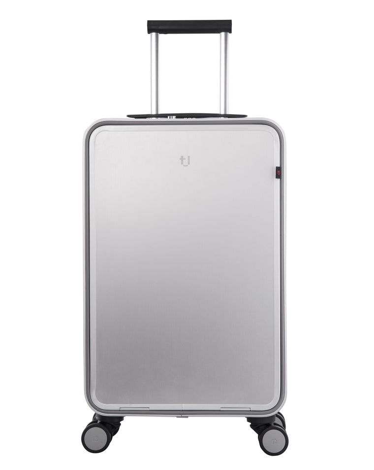 Tuplus One Series 20'' Luggage - Silver/Gray