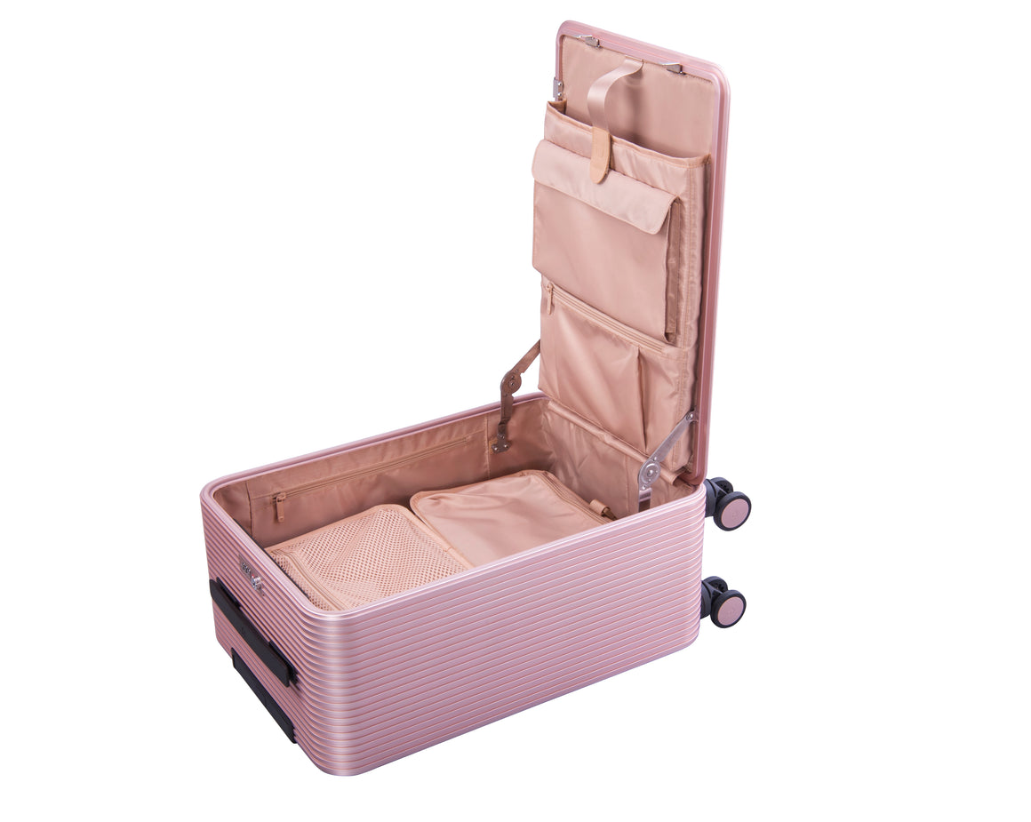 Tuplus One Series 20'' Luggage - Pink/Pink