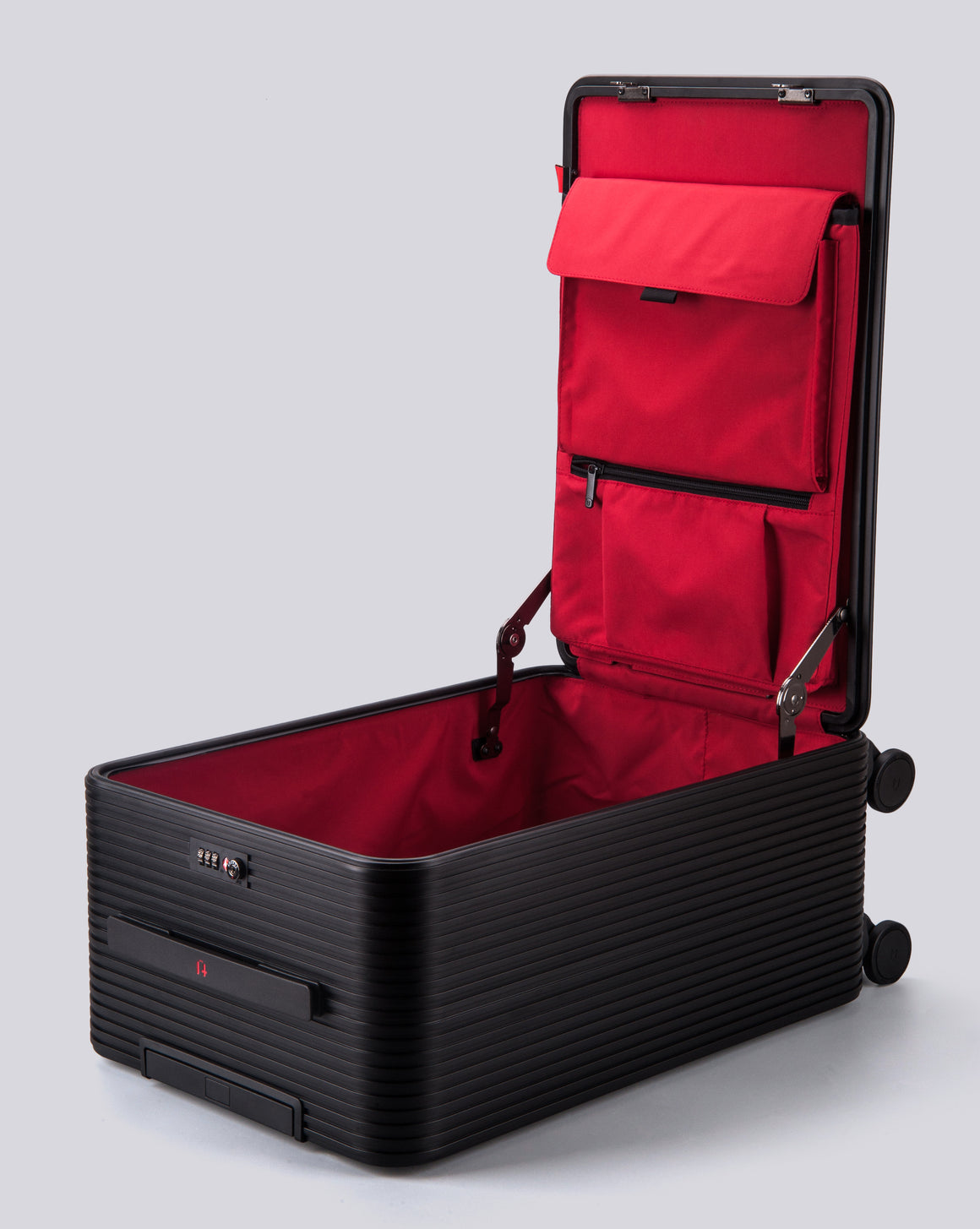 Tuplus One Series 20'' Luggage - Black/Red