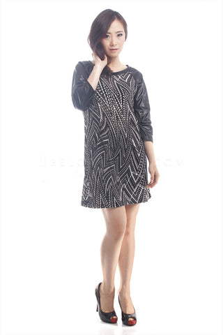 Dress Sandra Hitam