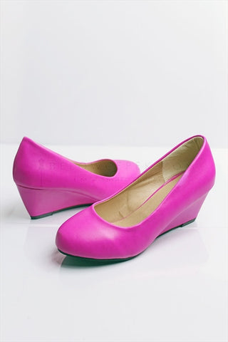Wedges Lila Pink Size 36