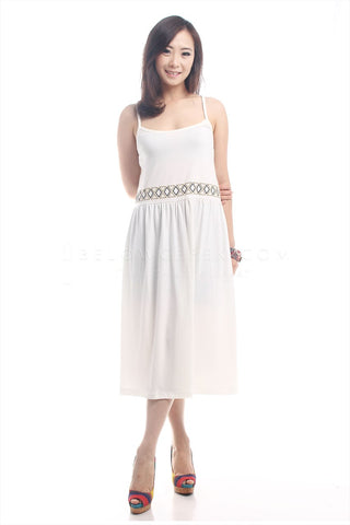 Dress Diantha Putih
