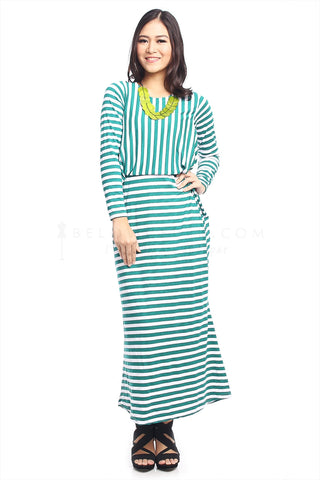 Dress Barbra Hijau