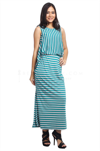 Dress Monita Hijau