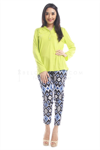 Blus Abell Lime