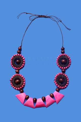 Kalung Abby Pink