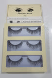 Eye Lashes By Moza Light ( 3 Pcs )