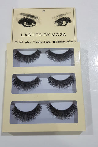 Eye Lashes By Moza Premium ( 3 Pcs )