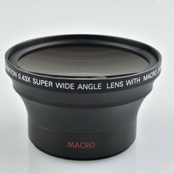 Additional Lens of 0.43X Fisheye Camera 58MM Super Wide-angle SLR and Digital Camera Lens