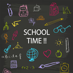 LIFE MAGIC BOX Vinyl Back To School Chalkboard Backdrops Photo Background Backdrop Ideas