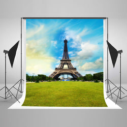 LIFE MAGIC BOX Seamless Wrinkle-free Polyester Washable Tower Pattern Background Backdrop Design