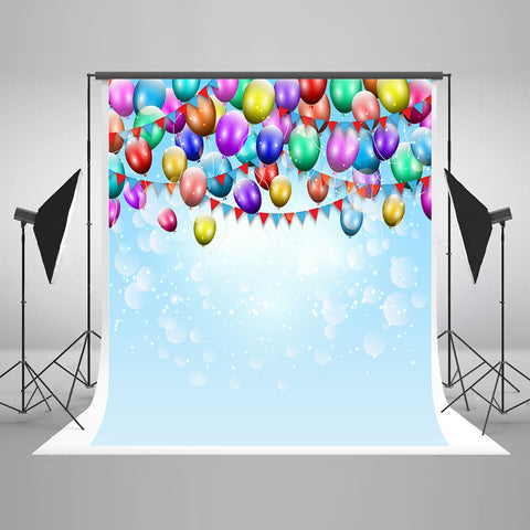 Life Magic Box Seamless Wrinkle-Free Washable Camera Backgrounds Photography Backdrops Balloons
