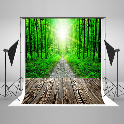 Life Magic Box Seamless Wrinkle-Free Washable Camera Backdrop Wedding Photography Backdrops Treewood