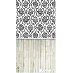 PHSFUBEL Silk Like Upgraded Material Textured Backdrops Wood Flooring Backdrops Gray Background