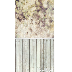 PHSFUBEL Silk Like Upgraded Material Wood Flooring Backgrounds Pattern Style Backdrop Gray Backdrop