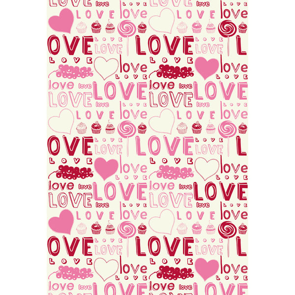 LIFE MAGIC BOX Wrinkle-free Seamless Washable Background Studio LOVE Birthday Photobooth Backdrop
