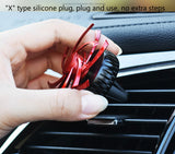Car Perfume Air Conditioning Outlet Decor Ornaments Aromatherapy Solid Ointment Rotation Diffuser