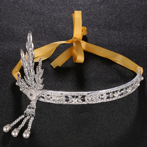 Fashion Leaves Bride Bridal Headwear Creative Romance Bridesmaids Hair Crown