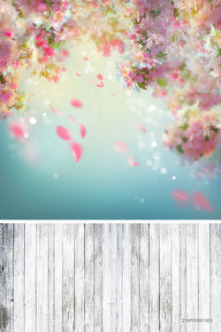 Flower Decoration Printed Vinyl Backdrops Photography Kids Party Backgrounds Photo Background Fabric
