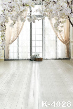 Fondos Fotografico Photo Backdrop Fabric Backdrops 220Cm * 150Cm White Wood Floors Gauze Sticks