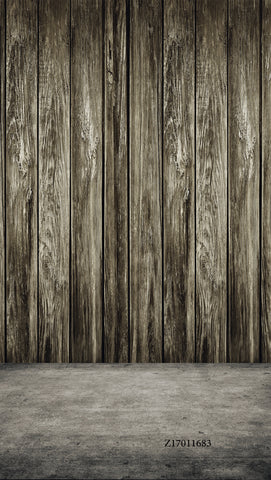 LIFE MAGIC BOX Vinyl Wood Backdrop Wooden Background Grey Collapsible Background Fashion Photography