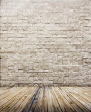 Vinyl Backdrops For Photography  Three-Dimensional Brick Wood Photo Background Cm-5674