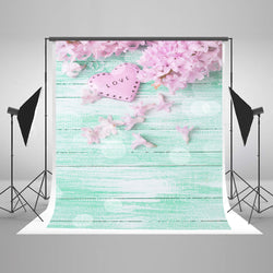 LIFE MAGIC BOX Seamless Wrinkle-free Washable Polyester Camera Backdrop Flowers Photos Background Pictures J03791