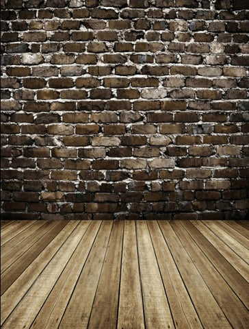 New Arrival Backgrounds For Photo Studio Cloth Photography Background Gray Brick Walls And Wooden Floor