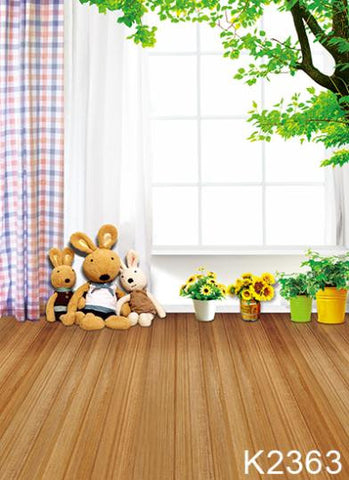 Wood Floor Backdrop  Backdrop Wedding   High 3M X Weight 2M For Wedding Photo Xr14-K-2363