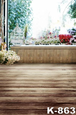 Wood Floor Photography Backdrop  Newborn Photography Props   200Cm * 300Cm Digital Backdrops Xr14-K-863