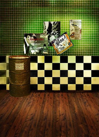 Vintage Photographic Background Cloth Photo Background Fundos Indoor Clothes 3042 Wood Floor