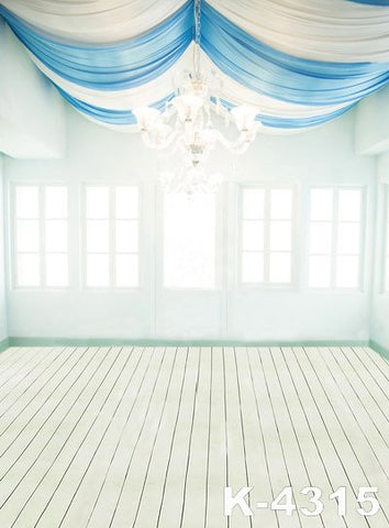 Photography Backdrop Toile De Fond Studio Photo Fabric Backdrops 220Cm * 150Cm White Wood Floors Gauze Chandelier