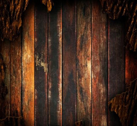 Photography Backdrops Yellow And Black Wood Walls Background Cm-6540