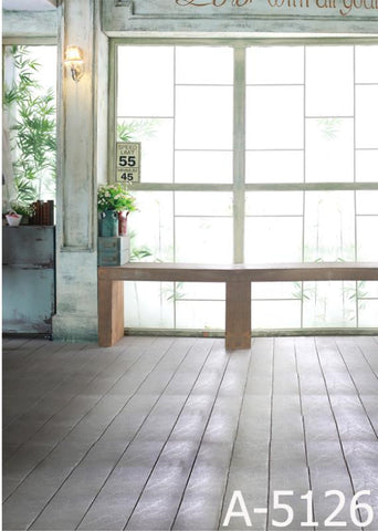 Photography Backdrops The Sun Shines Through The Window On The Wooden Floor Background Mh-5126