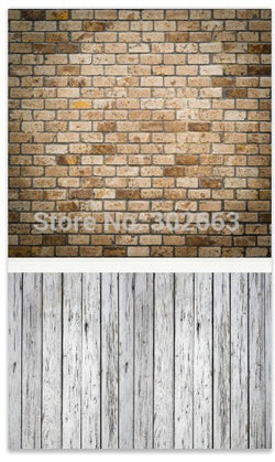 Bricks And Wood Floor Photography Background Good For Photo Shoot  Background Backdrop  For Studio  Ntxr-13