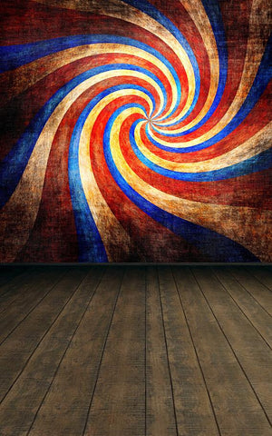 Vinyl Backdrop Fundo Photo Cloth Photo Background 220Cm * 150Cm Wood Time Tunnel Wall