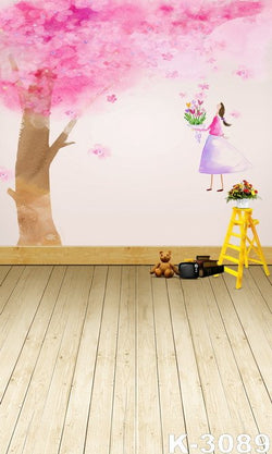 Photo Background  Backdrop Wood Floordrop   200Cm * 300Cm Custom Backdrops Xr14-K-3089