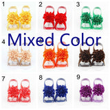 5piecs/set Photographic Props Baby's Footwear Children's Carnation Flower Footwear Jewelry Photography